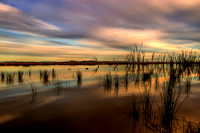 Sunset at Winton Wetlands