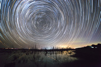 Star Trail Lines with 6D